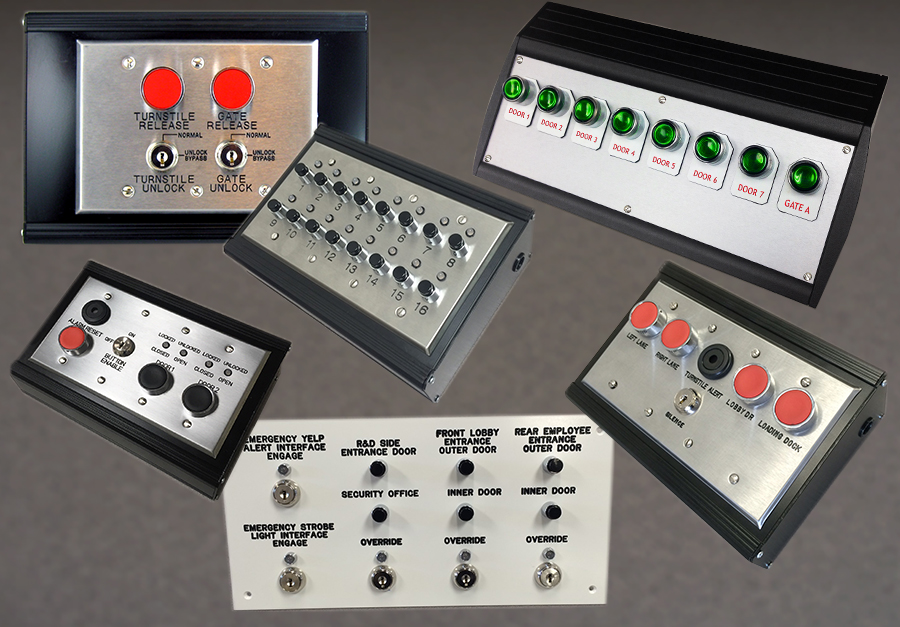 Desktop Control Panels - 7200 Series